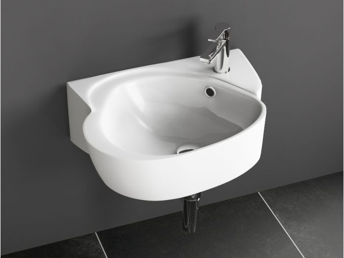 aqua bagno drop design keramik waschtisch waschbecken. Black Bedroom Furniture Sets. Home Design Ideas