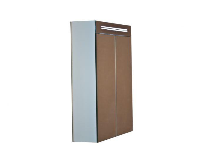 bad spiegelschrank 60cm inkl led beleuchtung 2 t ren. Black Bedroom Furniture Sets. Home Design Ideas