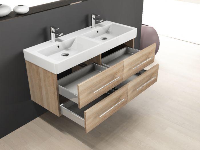 badm bel inkl keramik waschtisch und unterschrank 120cm 4 auszge. Black Bedroom Furniture Sets. Home Design Ideas