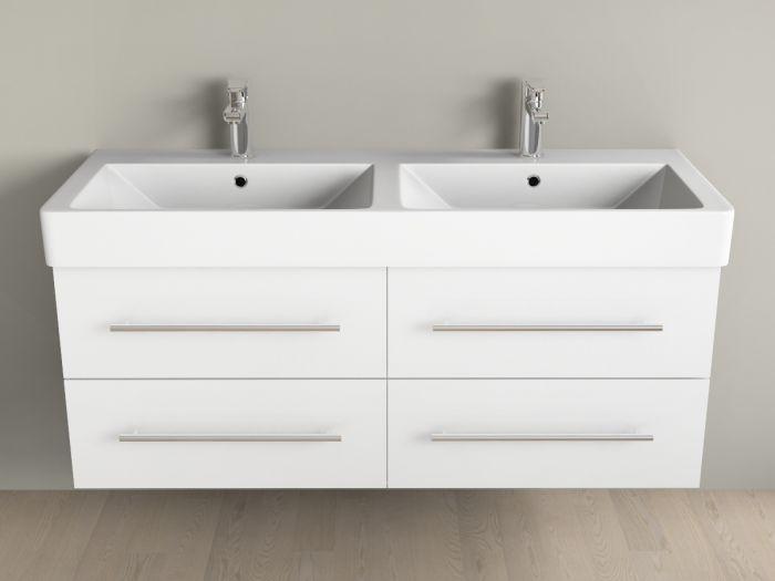 badm bel inkl keramik waschtisch und unterschrank 120cm 4. Black Bedroom Furniture Sets. Home Design Ideas
