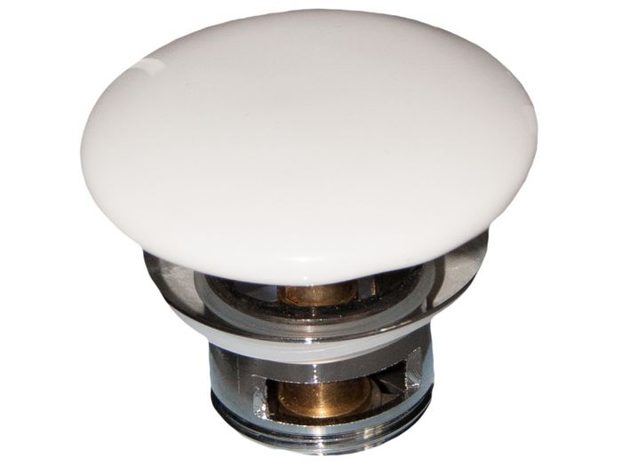 design schaftventil mit druckverschluss push open f r wasch. Black Bedroom Furniture Sets. Home Design Ideas