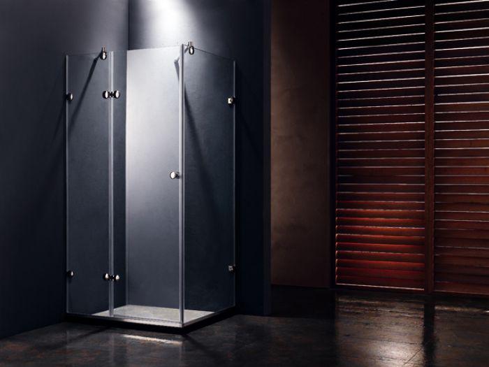 Echtglas duschkabine
