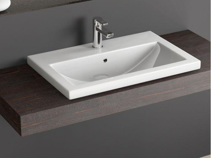keramik einbau waschtisch aufsatz waschbecken o m belwaschtisch. Black Bedroom Furniture Sets. Home Design Ideas