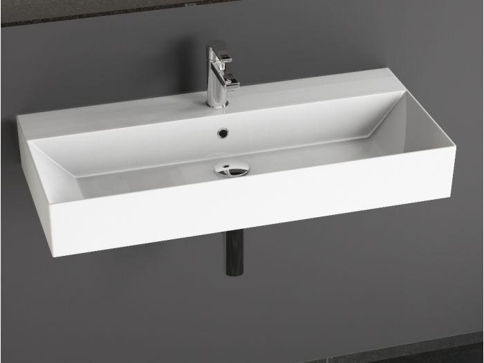 aqua bagno design keramik waschtisch 90 cm. Black Bedroom Furniture Sets. Home Design Ideas