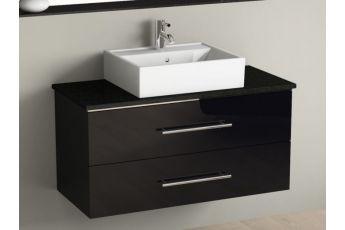 aqua bagno keramik waschtisch 50cm wei waschbecken auch als auf. Black Bedroom Furniture Sets. Home Design Ideas