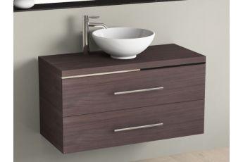 badm bel 80cm inkl keramik waschtisch und unterschrank. Black Bedroom Furniture Sets. Home Design Ideas