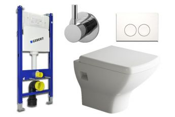 Geberit & Aqua Bagno WC-Set.02T  Spülkasten UP100...