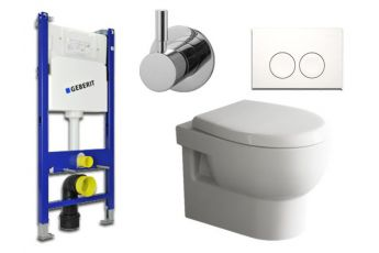 Geberit & Aqua Bagno WC-Set.06T Spülkasten UP100...