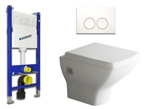Geberit & Aqua Bagno WC-Set.02  Spülkasten UP100...