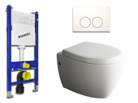 Geberit & Aqua Bagno WC-Set.03 Spülkasten UP100...
