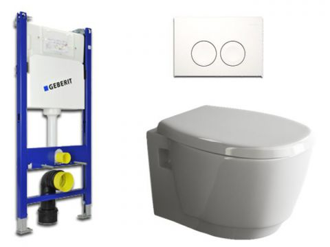 Geberit & Aqua Bagno WC-Set.04 Spülkasten UP100...
