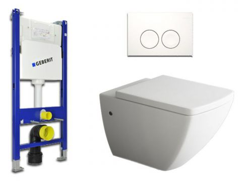 Geberit & Aqua Bagno WC-Set.05 Spülkasten UP100...