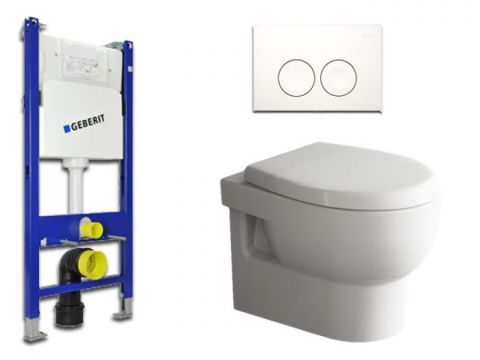 Geberit & Aqua Bagno WC-Set.06 Spülkasten UP100...