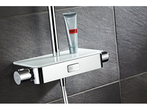 HSK AquaSwitch Softcube Mix Shower-Set mit Kopfbrause 300x200mm
